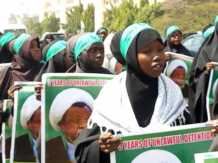 free zakzkay in abj on 13 dec marking 3 yrs of zaria massacre